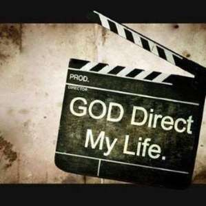 A black director's clapperboard ready to close stating Direct Quotes from Jesus