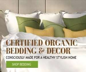 The Ultimate Green Store banner showing organic and sustainably made products and goods.
