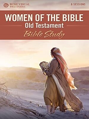 Women walking through the desert holding a Bible, signifying the Women In The Bible.